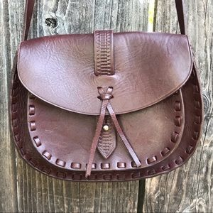 Madewell Asheville Saddle Crossbody Bag Brown